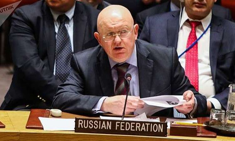 المندوب الروسي الدائم لدى الأمم المتحدة  فاسيلي نيبينزيا