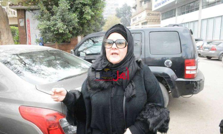 تشييع جنازة الفنانة ماجدة الصباحي إلى مثواها الأخير