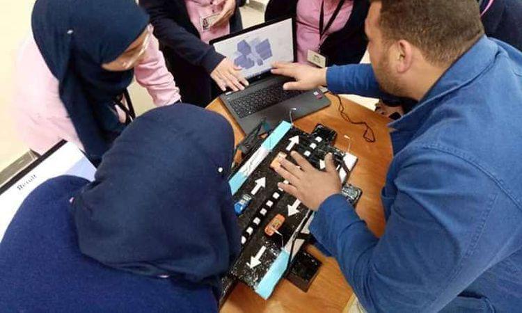 """تقييم مشاريع """"stem"""" للمتفوقين بالإسكندرية"""