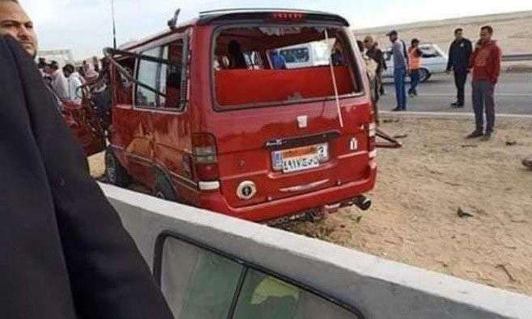 حادث أطباء المنيا