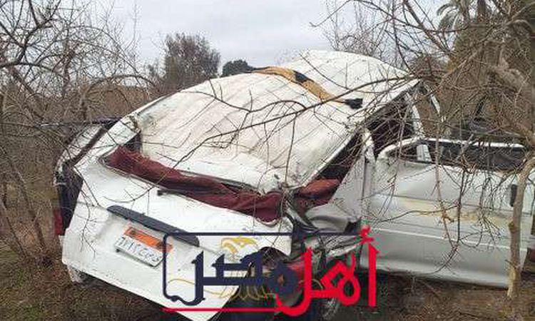 حادث طريق أسيوط