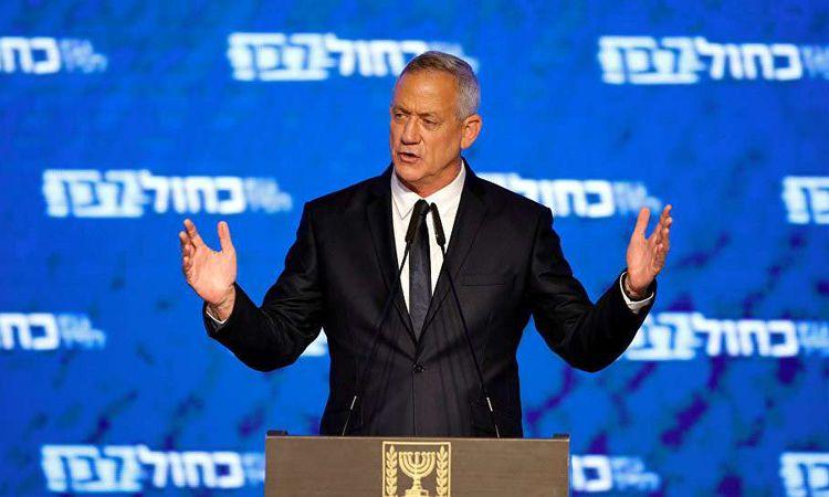 """رئيس حزب """"أزرق أبيض"""" الإسرائيلي، الجنرال بيني جانتس"""
