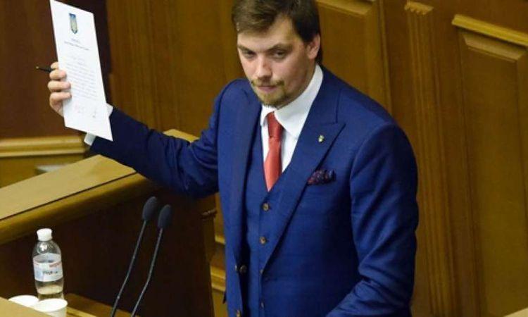 رئيس وزراء أوكرانيا  أليكسي غونتشاروك