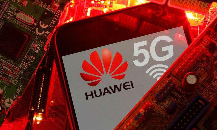 شركة هواوي الصينية وشبكة الجيل الخامس (REUTERS )