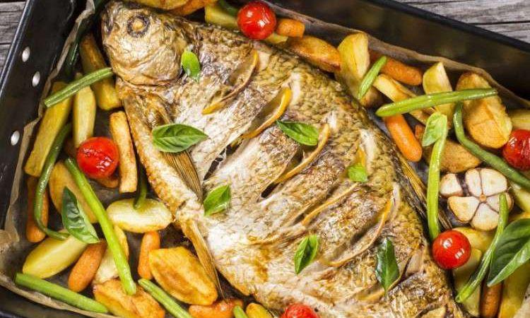 طريقة عمل السمك