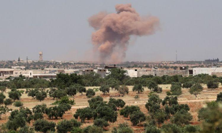 قصف صاروخي على حلب (أرشيفية)