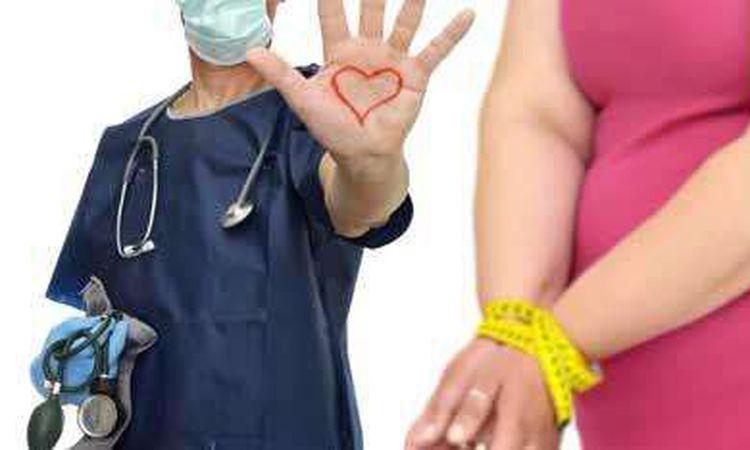 مخاطر السمنة علي القلب