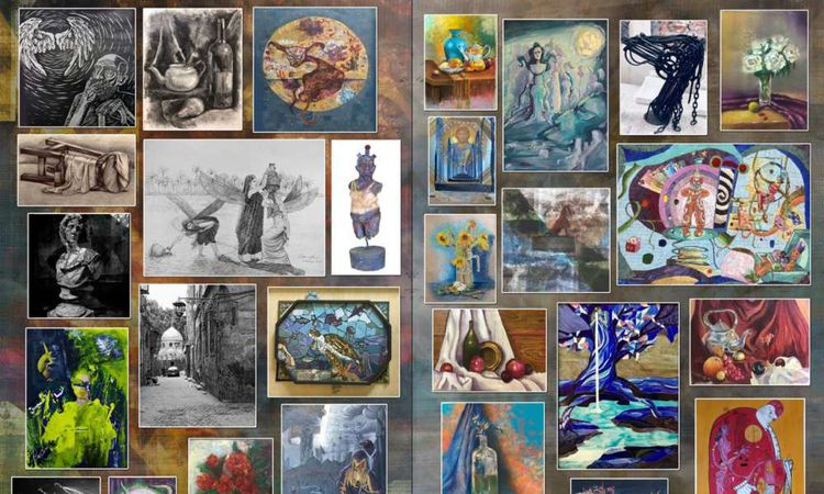 معرض فني بمتحف محمد علي بالمنيل