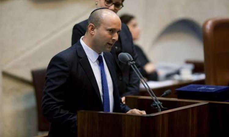 نفتالي بينيت وزير الدفاع الإسرائيلي