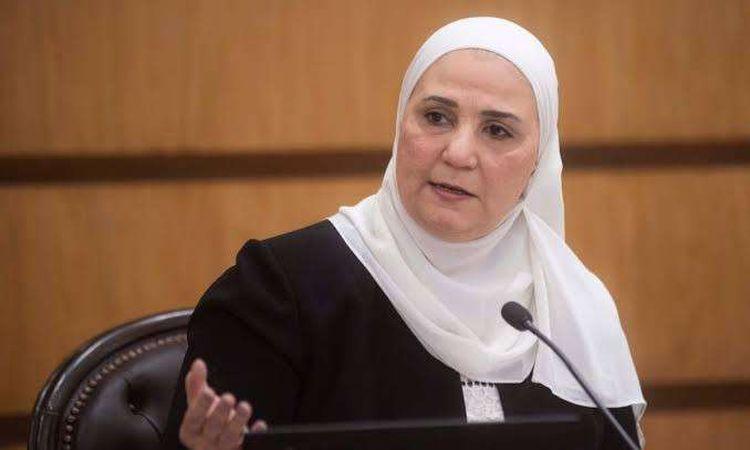 وزيرة التضامن الاجتماعي- نيفين القباج