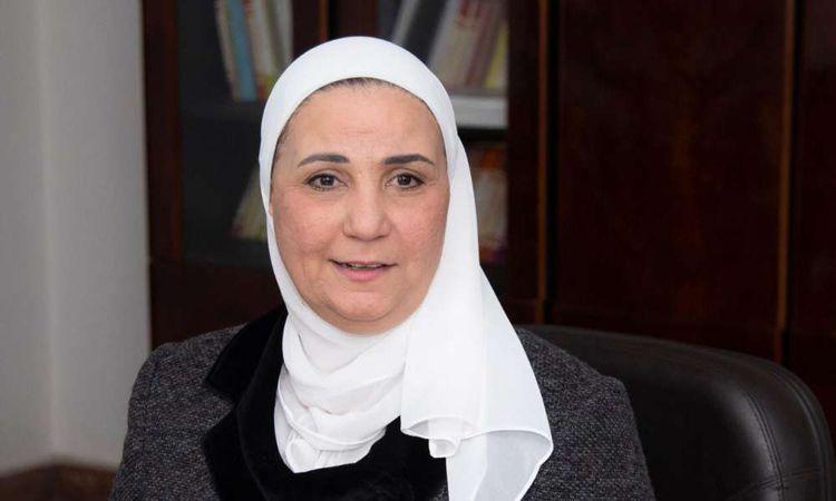 وزيرة التضامن الاجتماعي