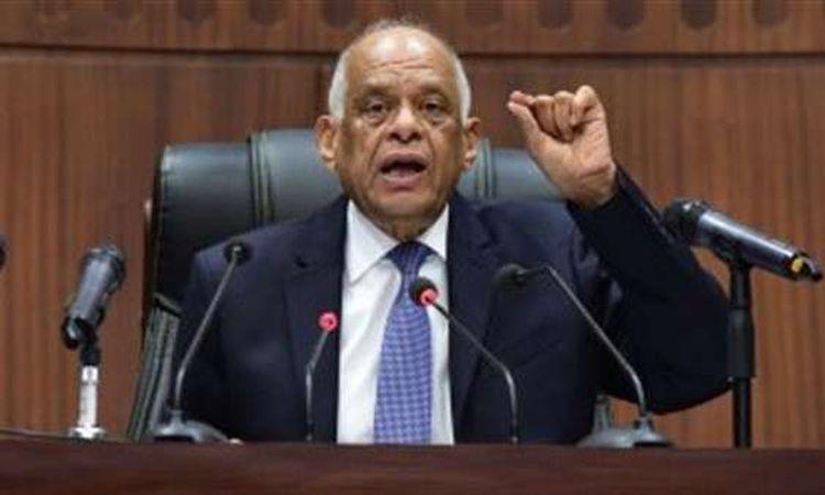 رئيس البرلمان الدكتور على عبد العال