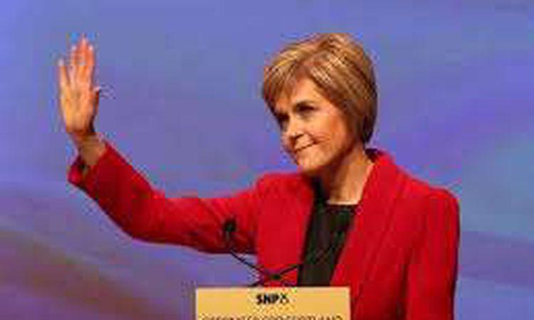رئيسة وزراء اسكتلندا نيكولا ستيرجن