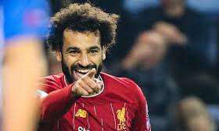 النجم المصري محمد صلاح، لاعب ليفربول الإنجليزي