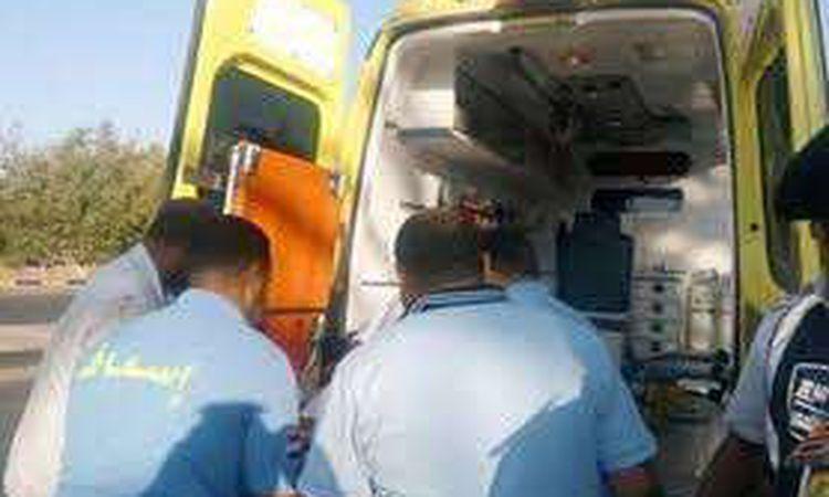 مصرع وإصابة 4 بينهم مسنة في حادث تصادم بجنوب المنيا