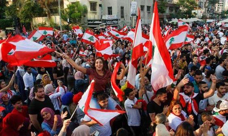 متظاهرو لبنان