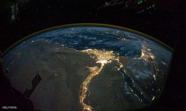 النيل من الفضاء