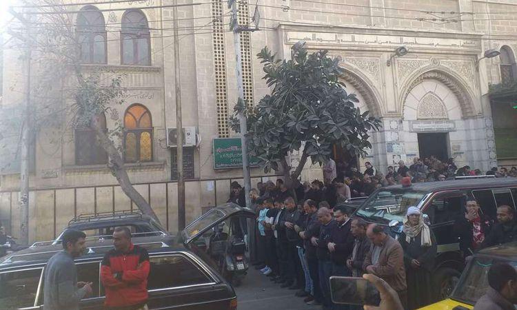 تشييع جنازة الزميل أحمد المنسي