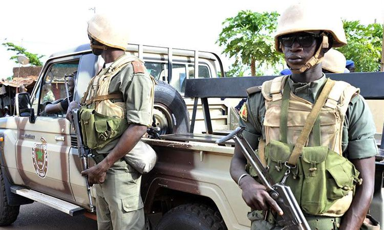 عناصر من الجيش المالي (AFP )
