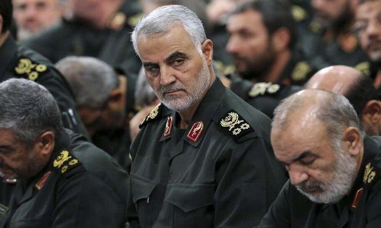 """قائد """"فيلق القدس"""" في الحرس الثوري الإيراني قاسم سليماني (AP)"""