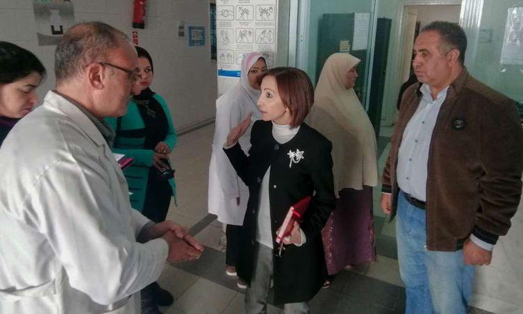 نائب محافظ الإسكندرية تتفقد وحدة جون لصحة الأسرة