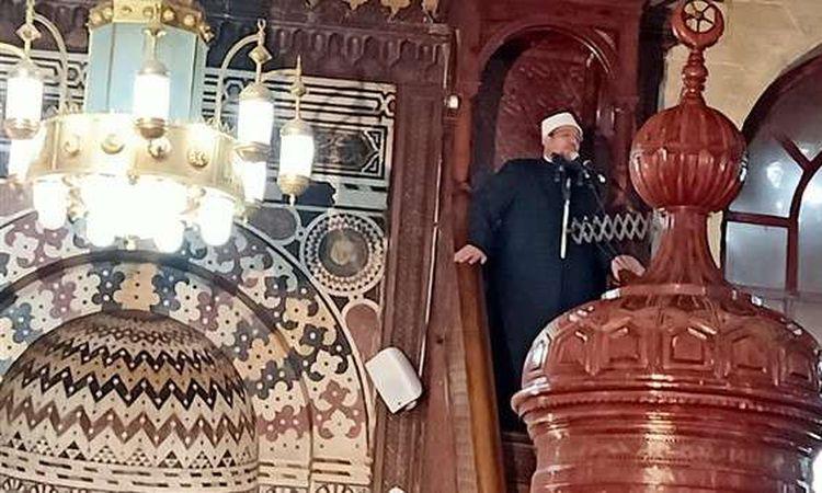 وزير الاوقاف ومفتى الديار يأديان صلاة جمعة الغد فى الدقهلية