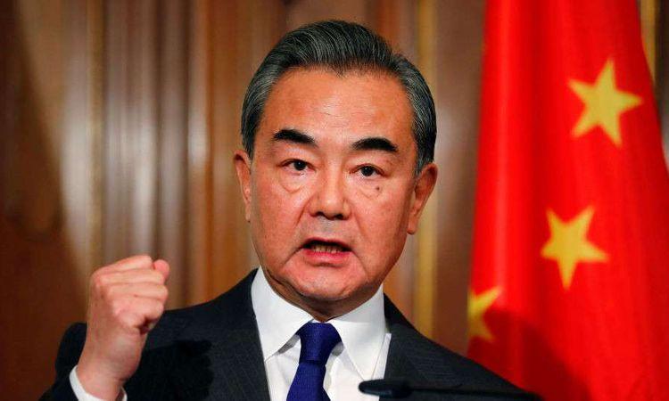 وزير الخارجية الصيني، وانج يي (REUTERS )