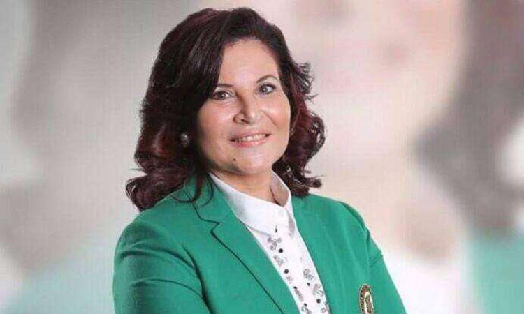 أماني مصطفي رئيس مجلس إدارة جمعية رجال الاعمال المصريين الافارقة