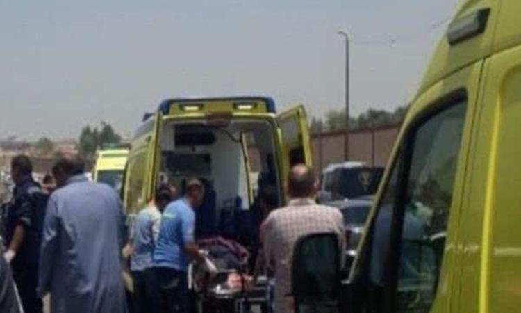 إصابة 41 طفل وشابين في حادث بقنا- صورة أرشيفية