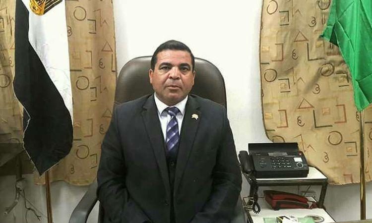العقيد أحمد الهوارى رئيس مركز الزينية بالأقصر