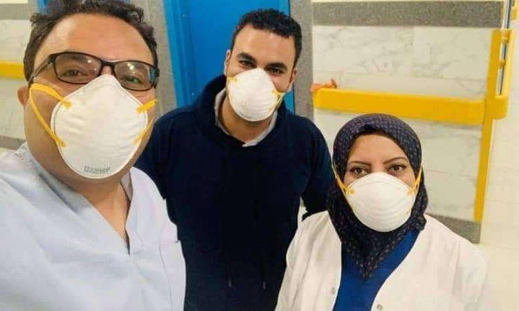 """تعافي 4 حالات من مصابي """"كورونا"""" بمستشفي العجمي بالإسكندرية"""