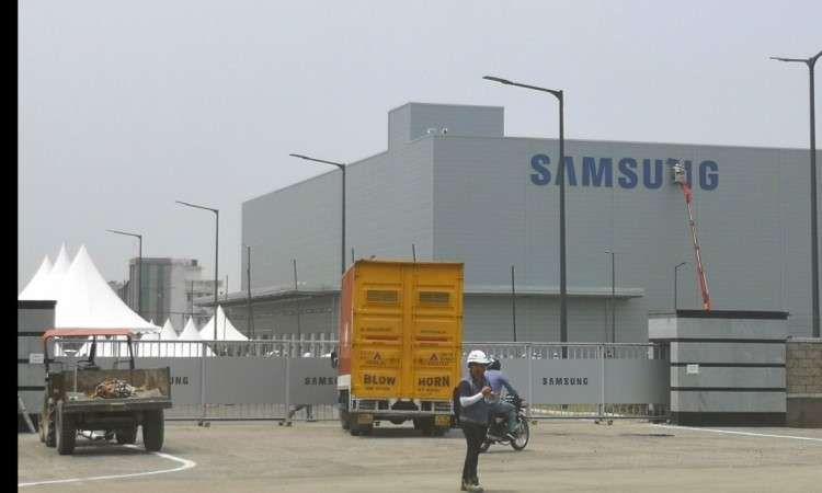 مصنع سامسونج للهواتف المحمولة