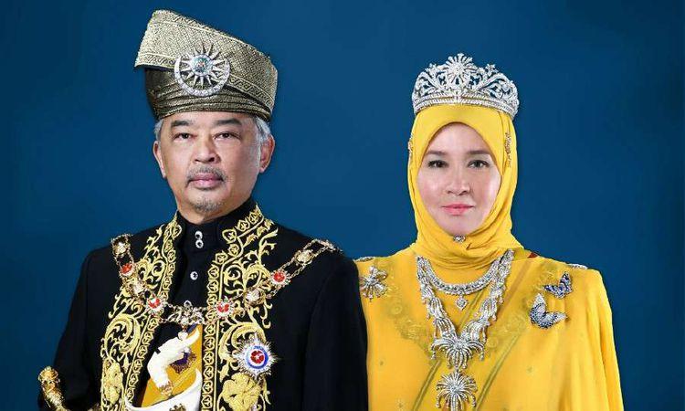 وضع ملك ماليزيا وزوجته تحت الحجر الصحي