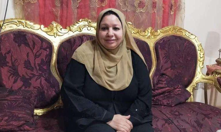 أول مصابة بفيروس كورونا في المنيا بعد شفائها