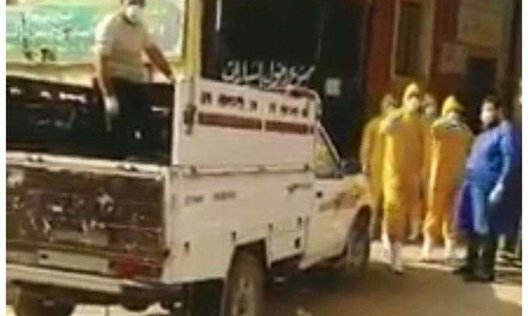 جثة متوفي بفيروس كورونا في بورسعيد