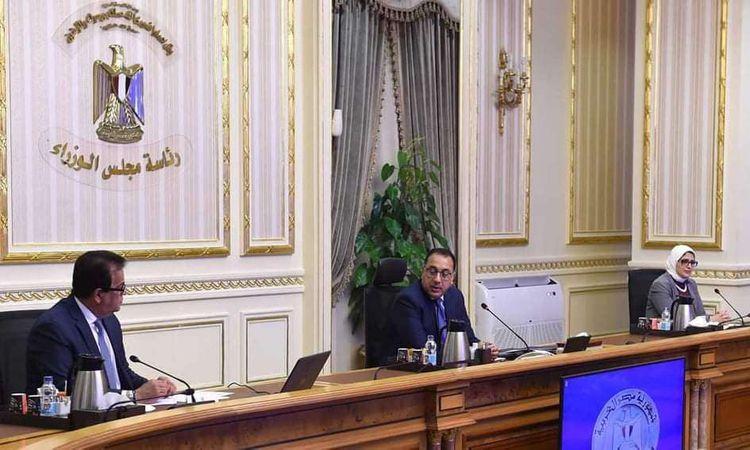 اجتماع مجلس الوزراء لمواجهة كورونا