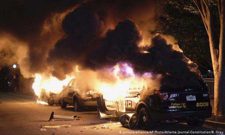 احتجاجات واسعة في مدن أمريكية