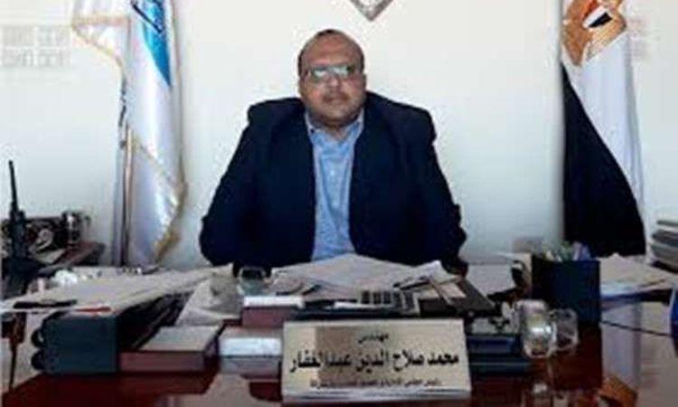 المهندس محمد صلاح الدين عبد الغفار - رئيس مجلس ادارة شركة مياه الشرب والصرف الصحى بأسيوط