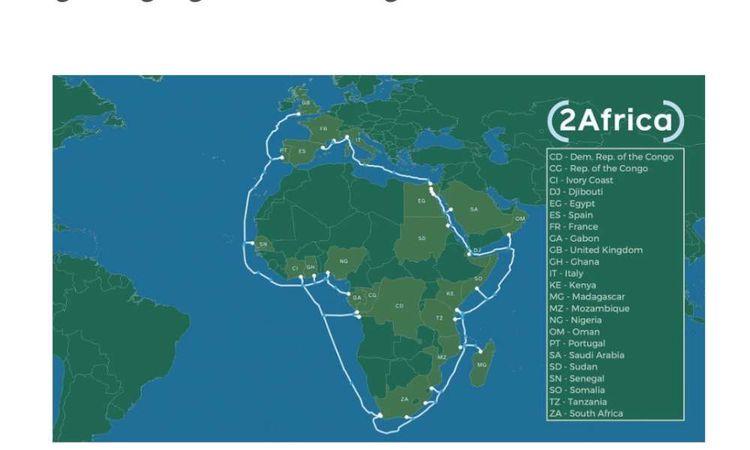 تفاصيل تعاون فيسبوك مع المصرية للاتصالات في تدشين كابل  2Africa