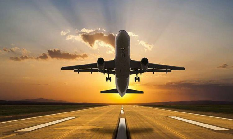 وقف رحلات الطيران