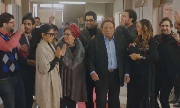 عادل إمام ودلال عبد العزيز في مسلسل فالنتينو الحلقة 30 والأخيرة