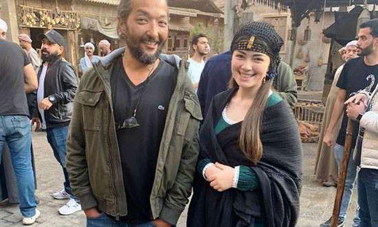 ليلى أحمد زاهر في مسلسل الفتوة