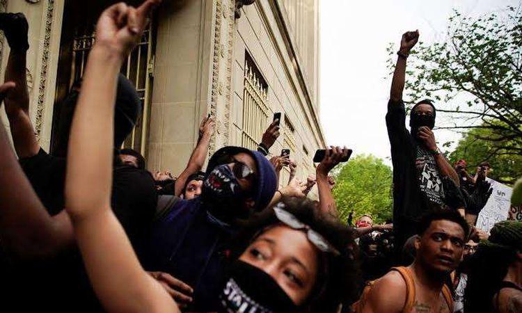 مظاهرات مينيسوتا