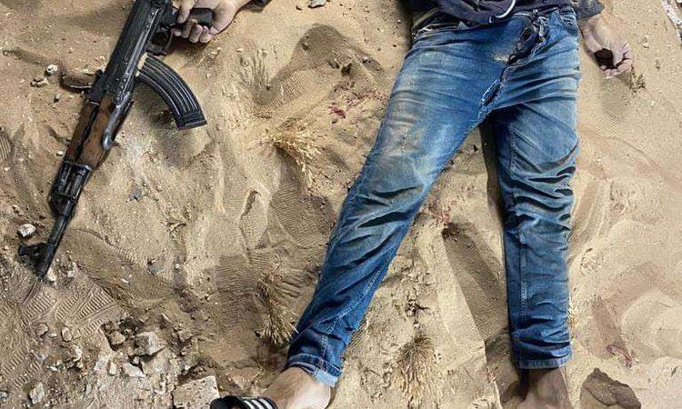 مقتل 21 عنصرا  إرهابيا