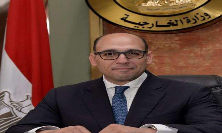 أحمد حافظ المتحدث الرسمي باسم وزارة الخارجية
