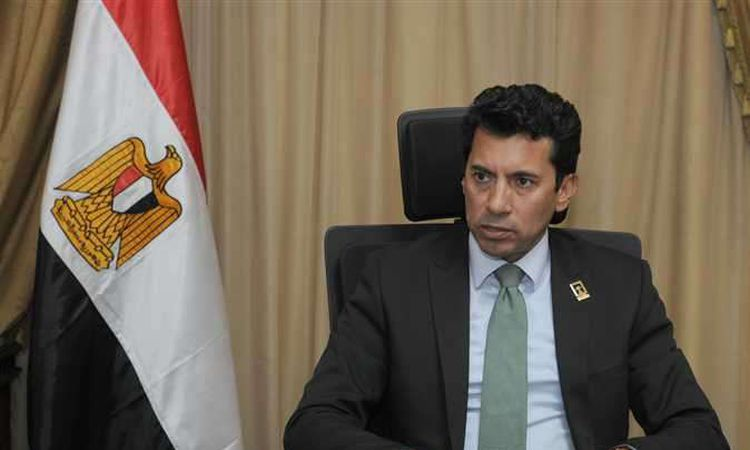 الدكتور أشرف صبحى وزير الشباب والرياضة