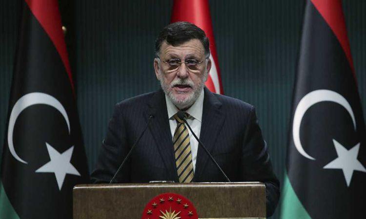 رئيس حكومة طرابلس الليبية فائز السراج