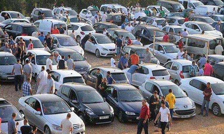 سوق السيارات المستعملة- صورة أرشيفية