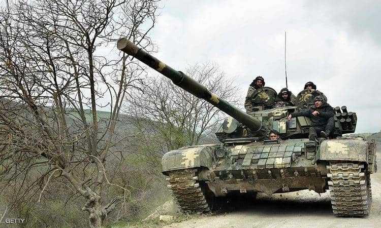الحرب بين اذربيجان وارمينيا