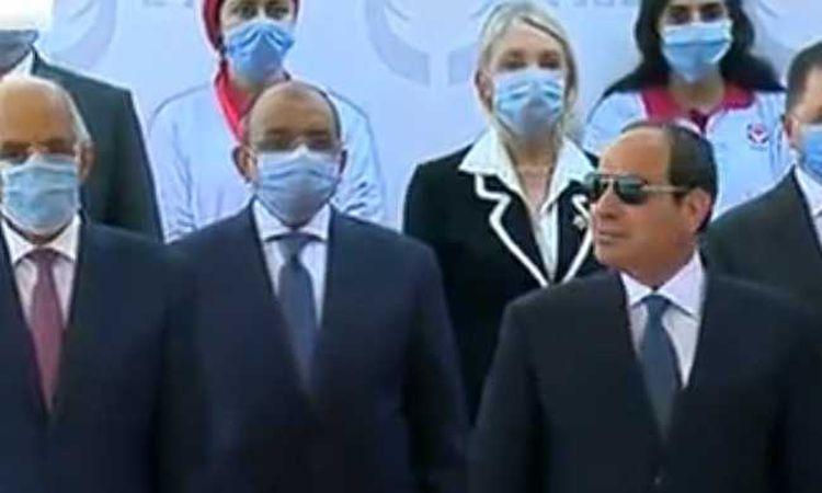 السيسي ومجموعة من الوزراء